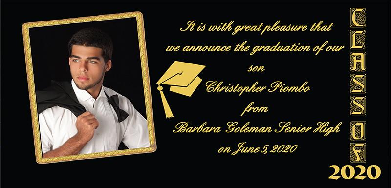 graduation anouncements